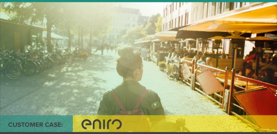 Eniro case study on conversations and performance