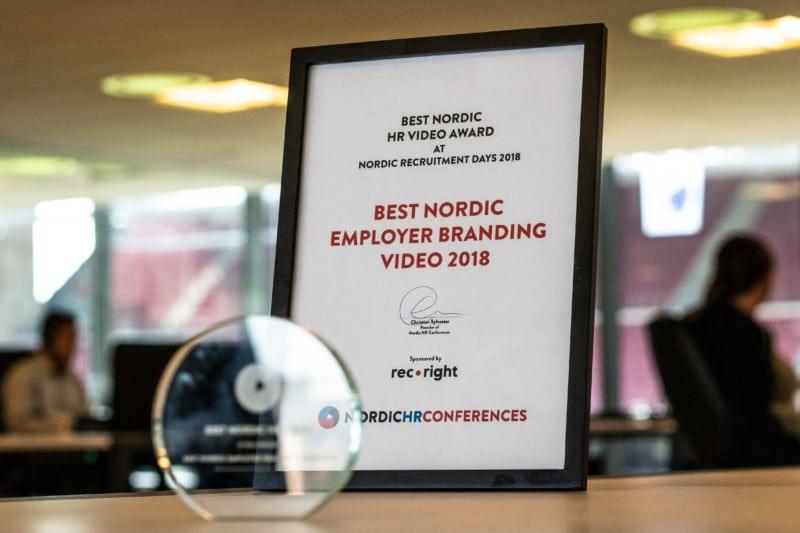 eloomi wins best employer branding video