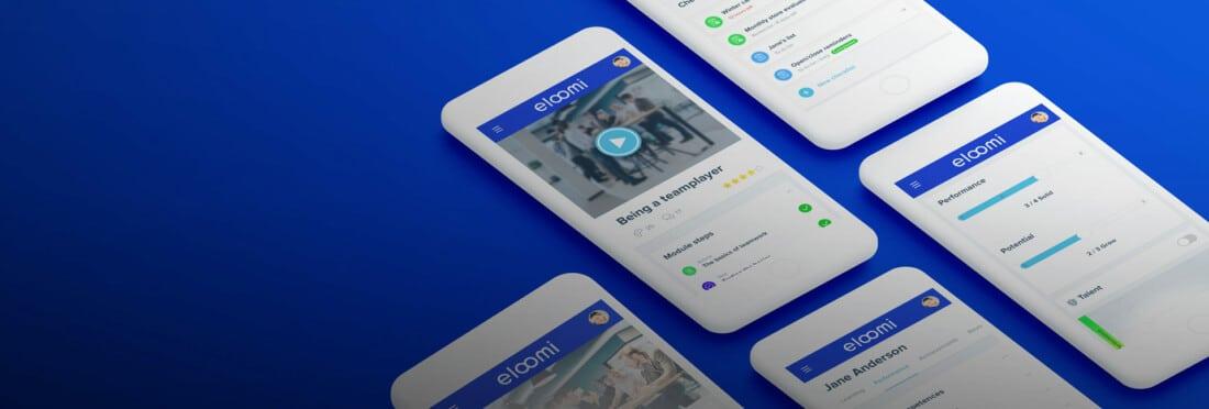 eloomi platform on multiple iphones