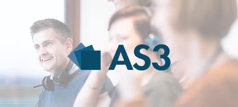 AS3, eloomi customer, LMS, training, learning platform