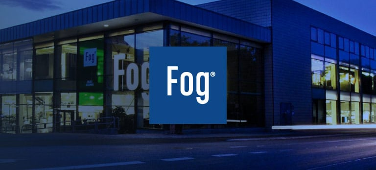 Fog, eloomi customer using LMS platform