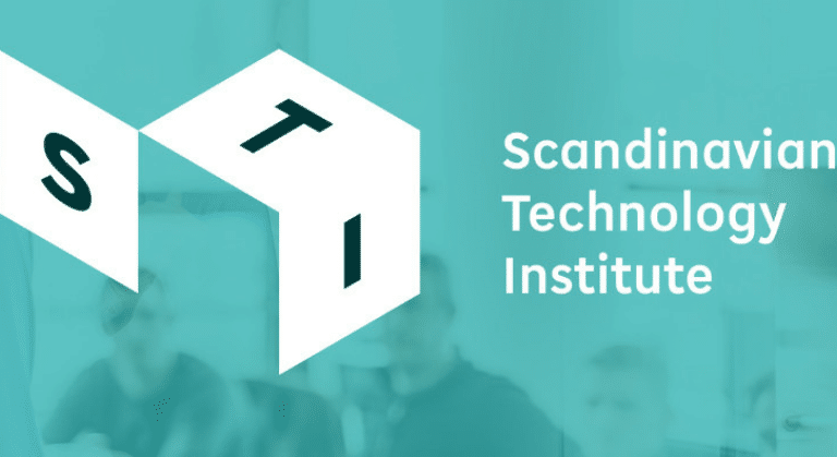 Scandinavian Technology Intitute logo, eloomi partner delivering LMS and performance solutions