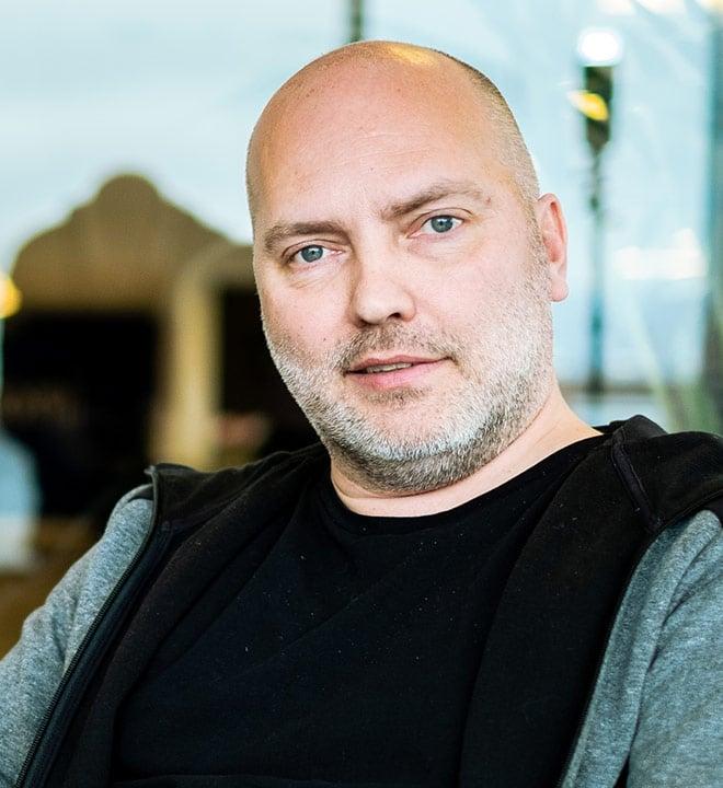 A portrait of a man - Claus Johansen, eloomi CEO