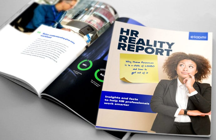 HR Reality Report cover and spread ebook