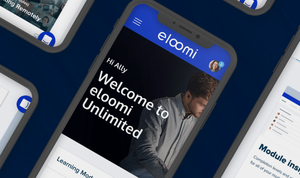 eloomi unlimited lms on multiple iphones
